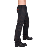 Pantalon Jean Aderlass Steampunk Pin Stripe