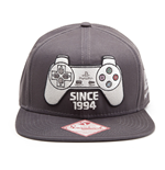 Casquette Sony PlayStation Gris Sombre