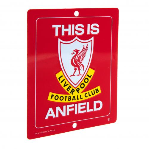 Enseigne Liverpool FC This Is Anfield
