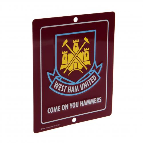 Plaque West Ham United FC