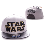 Star Wars casquette baseball Black Yellow Logo
