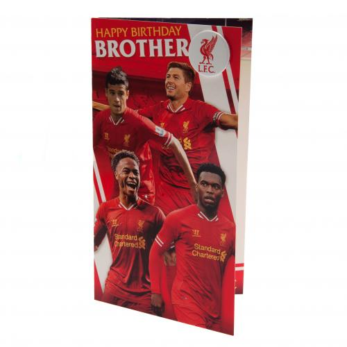 Carte de Voeux Liverpool FC - Brother