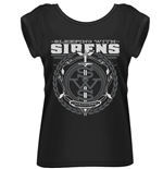 T-shirt Sleeping With Sirens - Crest