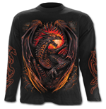 T-shirt Manches Longues Spiral - Dragon Furnace