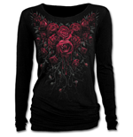 Blood Rose - Baggy Top Noir