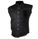 Chemise Sans Manches Spiral - Metal Streetwear