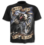 T-shirt Spiral - Shut Up And Ride