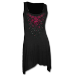 Robe Camisole Spiral - Blood Rose