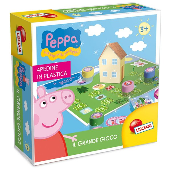 jeu de soci t peppa pig 135628 pour seulement 22 00 sur merchandisingplaza. Black Bedroom Furniture Sets. Home Design Ideas