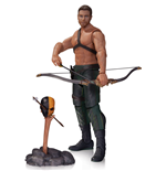Arrow figurine Oliver Queen & Totem 17 cm
