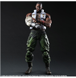 Final Fantasy VII Advent Children Play Arts Kai figurine Barret 28 cm