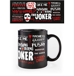 The Dark Knight mug Joker Quotographic
