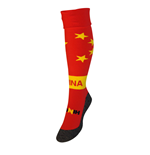 Chaussettes de Football Chine (Rouge)