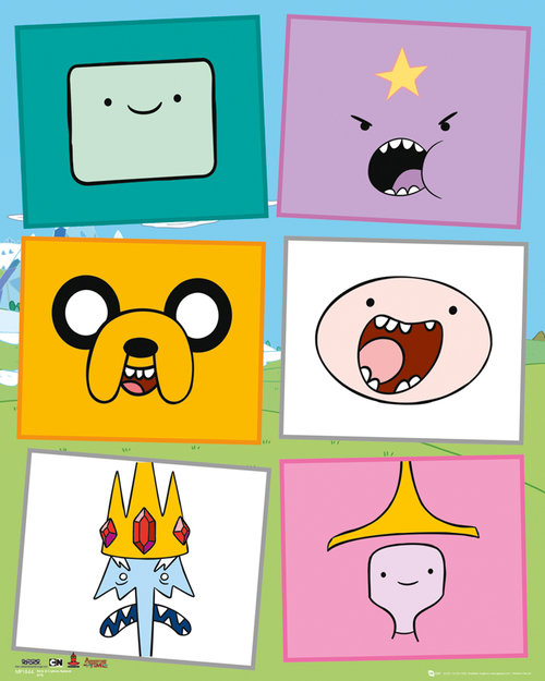 Poster Adventure Time 136953