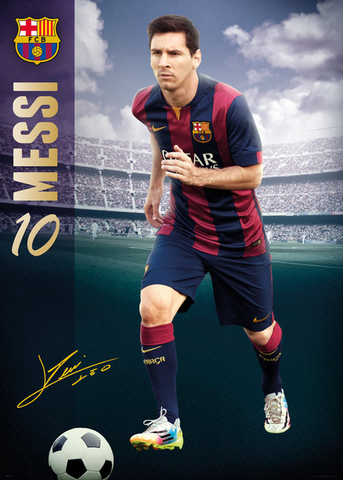 Poster FC Barcelone 136961