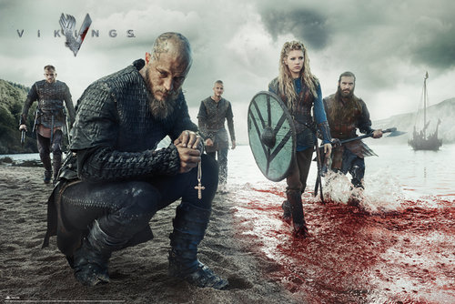 Poster Vikings Blood Landscape