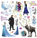 La Reine des neiges stickers Characters