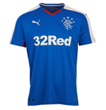 Maillot Football Rangers Domicile 2015-2016