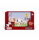 Peanuts pack 3 figurines Valentine's Day 5 cm