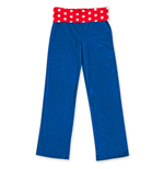 Pantalon Yoga Wonder Woman Bleu