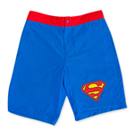 Short de bain Superman Bleu