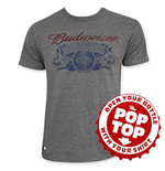 T-shirt Budweiser Rétro Pop Top