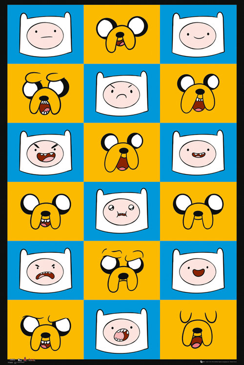Poster Adventure Time 137977