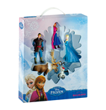 La Reine des neiges pack 5 figurines Bumper Pack