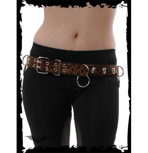 Ceinture Queen of Darkness - Skulls and R