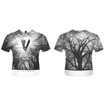 T-shirt Vikings Forest Blanc
