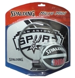 Panier Miniature Basketball Spurs de San Antonio