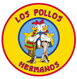 Breaking Bad tapis Los Pollos Hermanos 90 x 90 cm