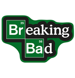 Breaking Bad tapis Logo 85 x 55 cm