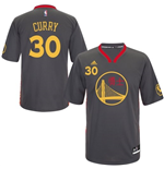 Maillot adidas Stephen Curry Golden State Warriors Slate Chinese New Year New Swingman