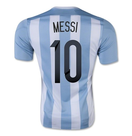 Maillot Argentine Football Home 2015-2016 (Messi 10)