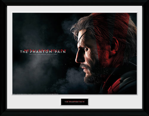 Metal Gear Solid V Snake Framed Collector Print - Affiche
