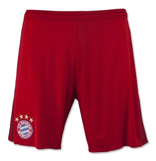Short Bayern Monaco 2015-2016 Home (Rouge)