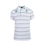 Polo Irlande à Rayures 2015-2016 (Blanc)