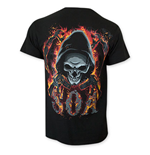 T-shirt Sons of Anarchy Flaming Skull