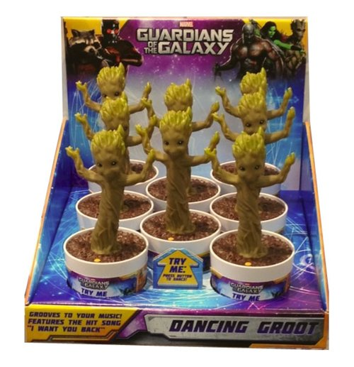 Dancing Groot Sonore 23cm Figurine Guardians of the Galaxy