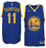 Maillot Klay Thompson Golden State Warriors adidas Royal Blue New Swingman Road