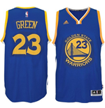 Maillot Golden State Warriors Draymond Green adidas Royal Blue New Swingman Road