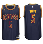 Maillot Cleveland Cavaliers J. R. Smith adidas Navy Blue New Swingman