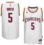 Maillot Cleveland Cavaliers J. R. Smith adidas White New Swingman Home