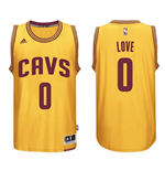 Maillot Cleveland Cavaliers Kevin Love adidas Gold New Swingman Alternate