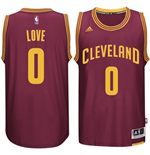 Maillot Cleveland Cavaliers Kevin Love adidas Garnet New Swingman Road