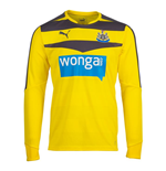 Maillot Newcastle United 2015-2016 Home (Jaune)