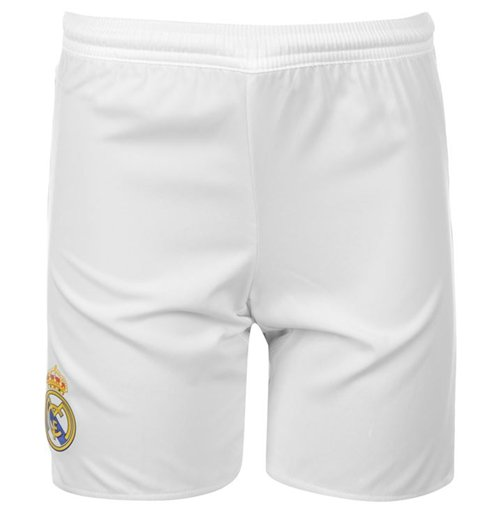 Short Real Madrid 2015-2016 Home (Blanc)