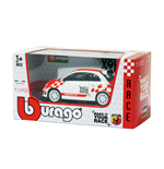 Voiture Diecast Modèle Bburago - Abarth 500 Make It Your Race 1:43