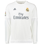 Maillot Longues Manches Real Madrid Adidas Home 2015-2016 (Enfants)